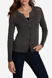 Women's Christine Pointelle Cardigan