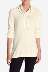 Cotton Tops for Women: Women's Catalyst Funnel-Neck Sweater