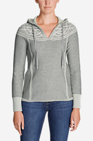 Women's Shasta Cable Hoodie Sweater