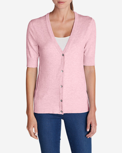 Cotton Cardigans for Women: Women's Christine Elbow Cardigan