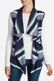 Plus Size Sweaters for Women: Women's Cascade Vest Sweater