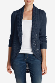 Cotton Sweaters for Women: Women's Peakaboo Cardigan Sweater