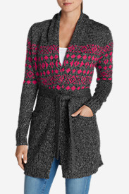 Plus Size Sweaters for Women: Women's Spirit Falls Cardigan Sweater