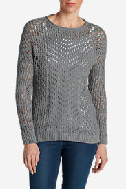 Petite Tops for Women: Women's Peakaboo Pullover Sweater