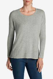 Cotton Tops for Women: Women's Christine Pullover Sweater