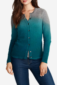 Women's Christine Cardigan Sweater - Dip-Dyed
