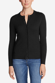 Cotton Sweaters for Women: Women's Christine Cardigan Sweater - Solid
