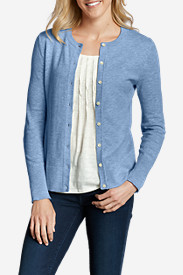 Comfortable Cardigans for Women: Women's Christine Cardigan Sweater - Solid