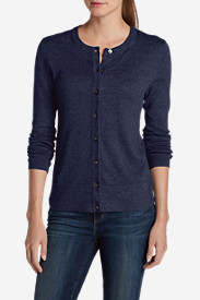 Long Sleeve Cardigans for Women: Women's Christine Cardigan Sweater - Solid