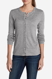 Petite Cardigans for Women: Women's Christine Cardigan Sweater - Solid