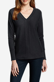 Women's Christine V-Neck Pullover Sweater - Solid