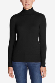 Cotton Sweaters for Women: Women's Christine Turtleneck Sweater