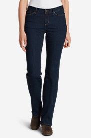 Curvy Jeans for Women: Women's StayShape Boot Cut Jeans - Curvy