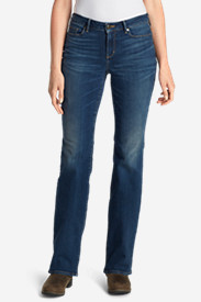 Women's StayShape® Boot Cut Jeans - Curvy