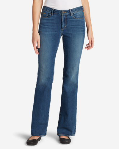 Women's StayShape Boot Cut Jeans