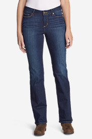 Women's StayShape Boot Cut Jeans - Curvy