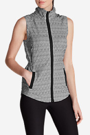Soft Shell Vests: Women's Myriad Vest - Print
