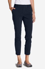 Nylon Pants for Women: Women's Voyager Slightly Curvy Slim Pants