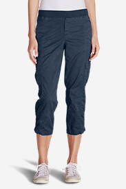Women's Kick Back Twill Crop Pants