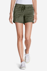 Green Shorts for Women: Women's Kick Back 5' Twill Shorts