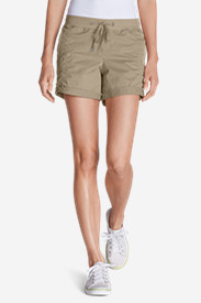 Drawstring Shorts for Women: Women's Kick Back 5' Twill Shorts