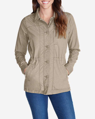 Cotton Jackets: Women's Adventurer® Ripstop Scouting Jacket