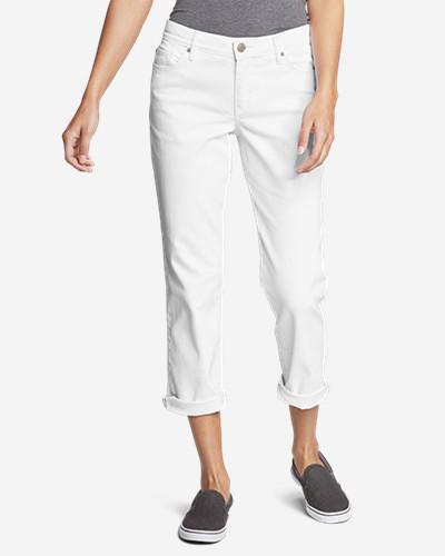 Women's Boyfriend Cropped Jeans