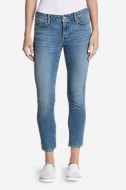 Denim Jeans for Women: Women's Elysian Slim Straight Jeans - Slightly Curvy
