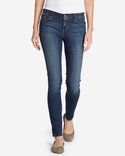 Elysian Slim Straight Jeans - Slightly Curvy