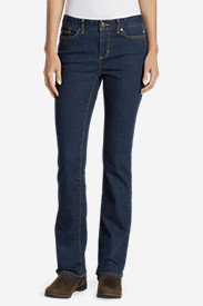 Curvy Jeans for Women: Women's StayShape Boot Cut Jeans - Slightly Curvy