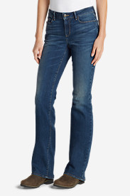 Women's StayShape® Boot Cut Jeans - Slightly Curvy