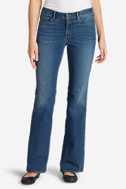 Women's StayShape Boot Cut Jeans - Slightly Curvy