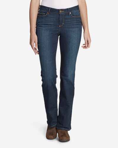 StayShape Boot Cut Jeans - Slightly Curvy