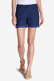Poplin Shorts for Women: Women's Willit Poplin Shorts - Print