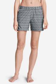 Plus Size Shorts for Women: Women's Myriad Shorts - Print