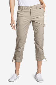 Tall Pants for Women: Women's Adventurer Ripstop Crop Cargo Pants