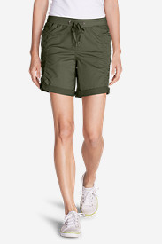 Green Shorts for Women: Women's Kick Back Twill Shorts