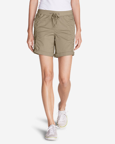 Drawstring Shorts for Women: Women's Kick Back Twill Shorts
