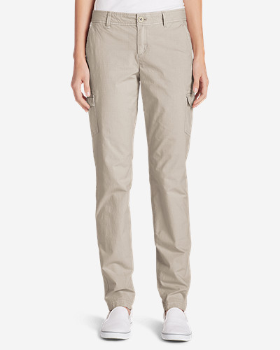 Women's Adventurer® Stretch Ripstop Cargo Pants   Slightly Curvy by Eddie Bauer