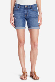 Women's Elysian Boyfriend Shorts - Destroyed