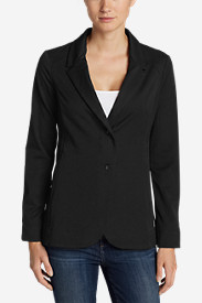 Black Plus Size Blazers for Women: Women's Travel Blazer