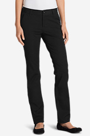 Petite Pants for Women: Women's Travel Pants - Slightly Curvy