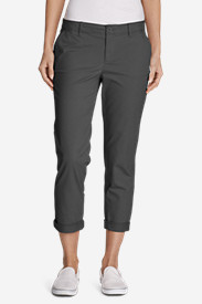 Women's Legend Wash Boyfriend Slim Stretch Cropped Pants