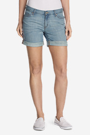 Women's Boyfriend Shorts - Embroidered