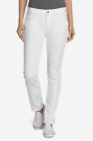 Women's Elysian Slub Twill Slim Straight Jeans