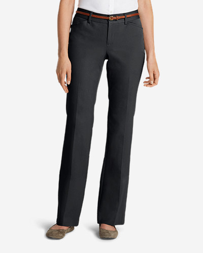 Women's StayShape Twill Trousers - Curvy