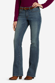 Women's Curvy Boot Cut Jeans