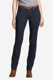 Women's Curvy Straight Leg Jeans - StayShape®