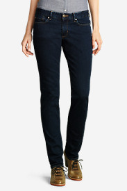 Women's Slightly Curvy Straight Leg Jeans - StayShape®
