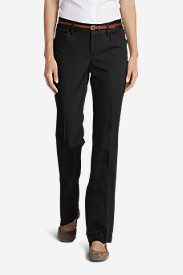 New Fall Arrivals: Women's StayShape Twill Trousers - Slightly Curvy